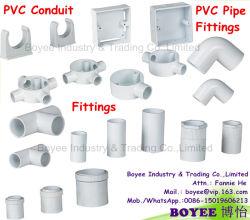 PVC 전기에게 전화선 프로텍터 도관 관 부속품 적합하