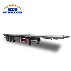 La Chine Fabricant 20FT ou 40FT 3 essieu semi-remorque de camion de conteneurs à plat pour la vente