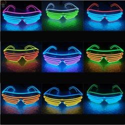 Lunettes de LED El Fil EL Lunettes LED clignotante