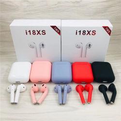 ステレオのイヤホーン5.0の接触Bluetoothの無線携帯電話のスポーツのヘッドセットI18xs