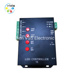 Цифровой T4000 программируемый контроллер LED с карты памяти SD