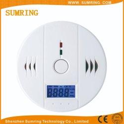 Het de echte Detector van het Gas van Co van de Functie/Alarm van de Koolmonoxide met LCD Vertoning