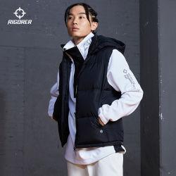 Giacca in piumino Rigorer giacca in poliestere caldo morbido Unisex invernale Interruttore a vento