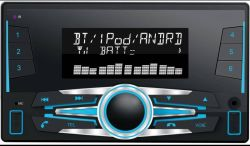 Voiture double DIN Media Player avec TF USB Bluetooth