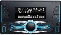 Doble DIN Reproductor multimedia de coche con USB Bluetooth TF