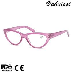 Pop Cat Eye styles de cadres de lunettes en plastique de lunettes de lecture