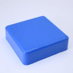 60 mm de ABS resistente al agua de color azul Reloj de pared de la contraportada del caso