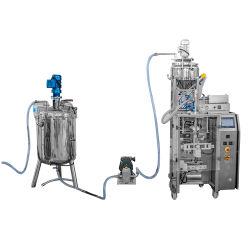 Automatique La sauce au jus de liquide /// Machine d'emballage de lait pour sac pochette