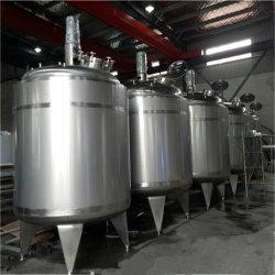 La tenue de fermentation en acier inoxydable poli de refroidissement de chauffage du réservoir de tampon