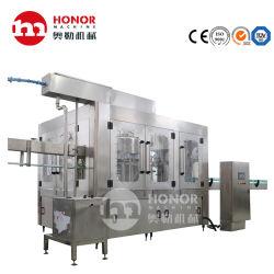 Flacon de verre de boisson de CO2 de gaz de remplissage de liquide de Boissons Emballage/usine d'équipement de conditionnement