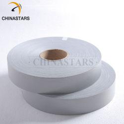 安全衣類のための高い可視性レトロの反射ファブリック縫うテープ