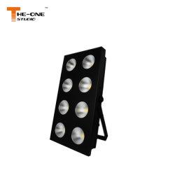 100W 8 Глаза ПОЧАТКОВ LED Matrix Блиндер лампа
