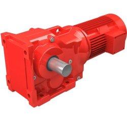 Ingranaggi conici a spirale Reductor/scatola ingranaggi elicoidale dell'asta cilindrica per i trasportatori