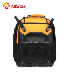 大きい容量堅いベースが付いている多機能の耐久ポリエステル電気技術者の道具袋のバックパック袋