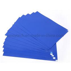 Verunreinigung-Steuerklebrige Matte, 6 in X 24 innen, Blau, Weiß, grau