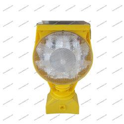防水太陽交通安全の交通標識LEDの緊急時ランプの点滅のバリケードの危険ライト