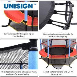 안쪽 안전망을%s 가진 최신 판매 안정 12FT 13FT 섬유유리 Trampoline