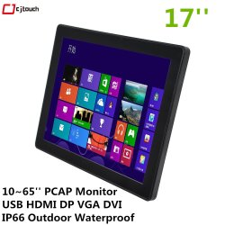15''17''19''openframe Mini PC Tablet delgada Pcap capacitiva HDMI USB Monitor de pantalla táctil de LCD