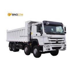 سعر أقل China Sinotruk HOWO 8X4 ماكينة تفريغ للخدمة الشاقة 12 عجلة الشاحنة/الشاحنة الثقيلة