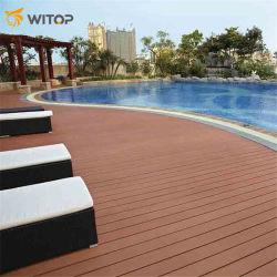 위팝의 장식 중국 도매 판매 목재 바닥 목재 플라스틱 수영장에 대한 복합 WPC 데킹