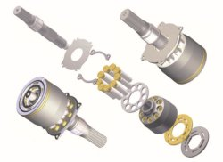 المضخة الهيدروليكية Eaton33 من الفئة Eaton46 Eaton56 مصنوعة في الصين أطقم إصلاح قطع غيار الكباس