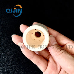 Aluminiumoxyd-Korund-Tonerde-keramisches Gefäß