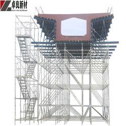 Échafaudage en acier galvanisé avec planche en acier et escalier