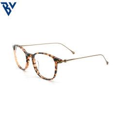 BV комбинации очки рамы небьющийся кадры обычный объектив Vintage оптических очков комбинации очки рамы