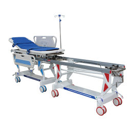 Transporte de pacientes médicos profissionais Maca Maca Ambulância Bed para mulheres grávidas e Bebé