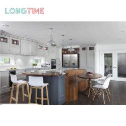 تصميم حديث فاخر مواد المطبخ جزيرة تصميم وحدات خزانة