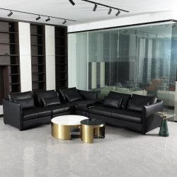 Chine Factory Modern Office mobilier d'hôtel de luxe Design cuir de section Canapé