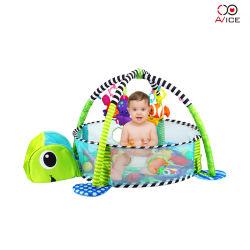 خيمة للأطفال حمام سباحة على شكل سلحفاة خيمة خضراء لعب الأطفال