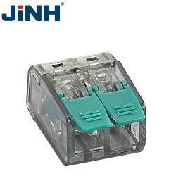 2/3/5 P de inserción rápida en el conector de cables Terminales de nivel de Primavera