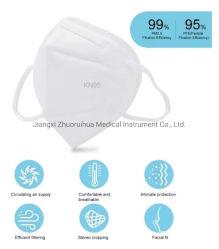 Prova non sanitaria della polvere dell'unità di usura comoda non tessuta a gettare bianca del tessuto KN95 della maschera di protezione del neoprene