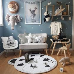 Salle de produits pour Bébé doux 95cm jouet pliable tapis de Jeu Tapis Tapis rampants Cartoon ronde
