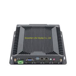 팬리스 올인원 미니 PC 산업용 IPC(6 * USB, 산업용 COM 포트 포함
