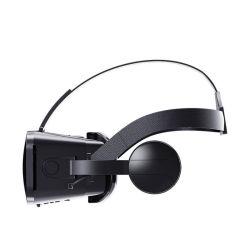 Telefone ajustável para vídeo óculos 3D com auscultadores