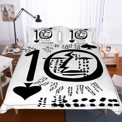 Зимний комплект постельные принадлежности с игральные карты печатается на его