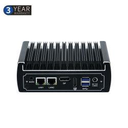 China Proveedor Mini PC Fanless i5-7200u de un Mini PC Industrial de la Junta de Linux para quiosco