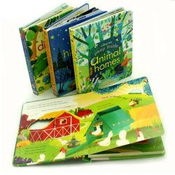 Brochure catalogo de colores de la revista cuaderno de tapa dura impresión de libros de la Junta de los niños