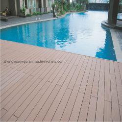 Legno duro costruito qualità installato facile dei rivestimenti per pavimenti del patio del nuovo laminato di legno sostenibile di prezzi base