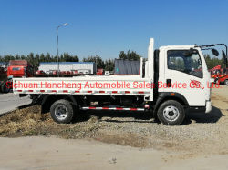 سعر المصنع/عجلات 6 عجلات 14 قدمًا 6 t محرك Cummins 141HP Sinotruk HOWO Light شاحنة/شاحنة حمولة/شاحنة مقفلة