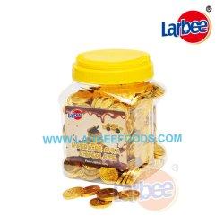 Commerce de gros 500 g de pièces d'or dans le bocal de chocolat à partir de l'usine Larbee