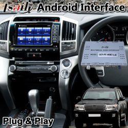 """Lsailt Android для интерфейса системы навигации GPS автомобилей Toyota 2012-2015 земли крейсера """"LC200"""