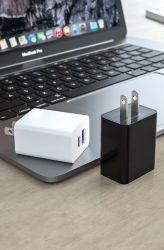 iPhone용 USB 어댑터 패스트 모바일 5V 3A를 연결합니다 Android 2A Travel Micro QC 3.0 벽면 USB 충전기