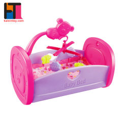 10295472 Cama Cuna para bebé Cuna de muñecas de juguete