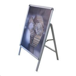ألومنيوم إعلان ملصق حامل لوحة تثبيت إطار لوحة التسوق المراكز التجارية والسينمات