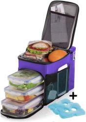 Custom на улице Большая емкость 1680d водонепроницаемый для пикников и изолированный обед мешок охладителя
