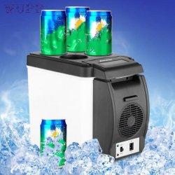 12V 6L coche Mini nevera refrigerador termoeléctrico portátil de viaje más cálidos, Refri