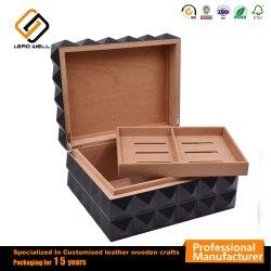 Cigar Humidor un emballage cadeau Boîte en bois pour le stockage